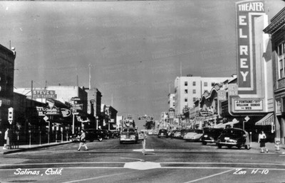 Downtown Salinas 1940s Kytherian Society of California KSOCA