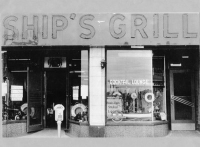 ships grill 1950